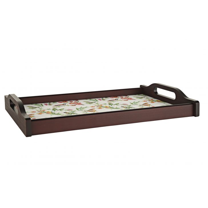 LE English Floral Big Tray,Tableware