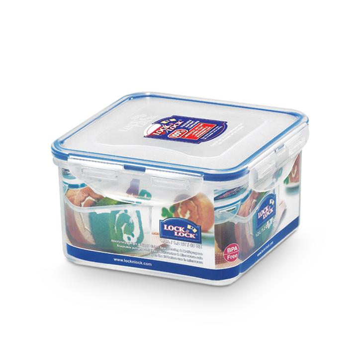 Lock & Lock Classics Square Food Container 1200 ml,Containers