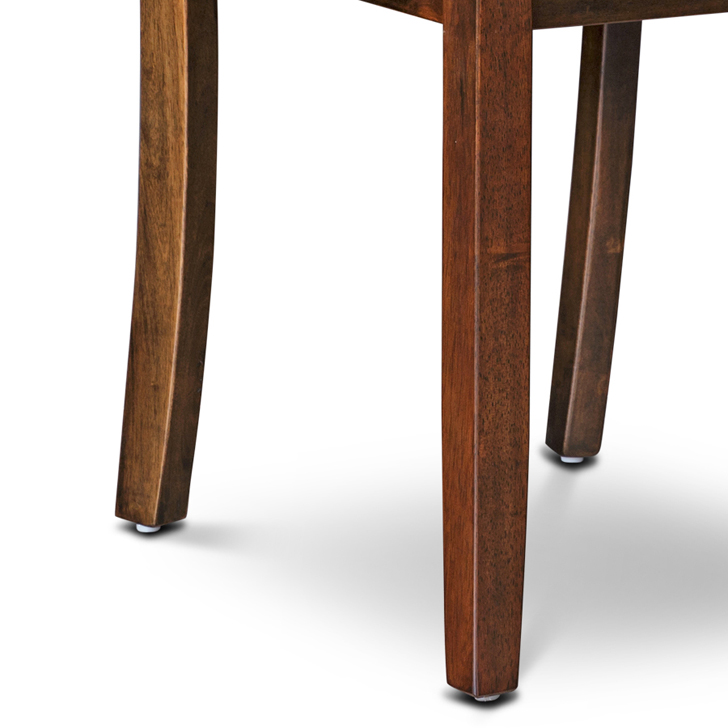Lobito Dining Chair (Set of 2) in Walnut Finish,Dining Chairs