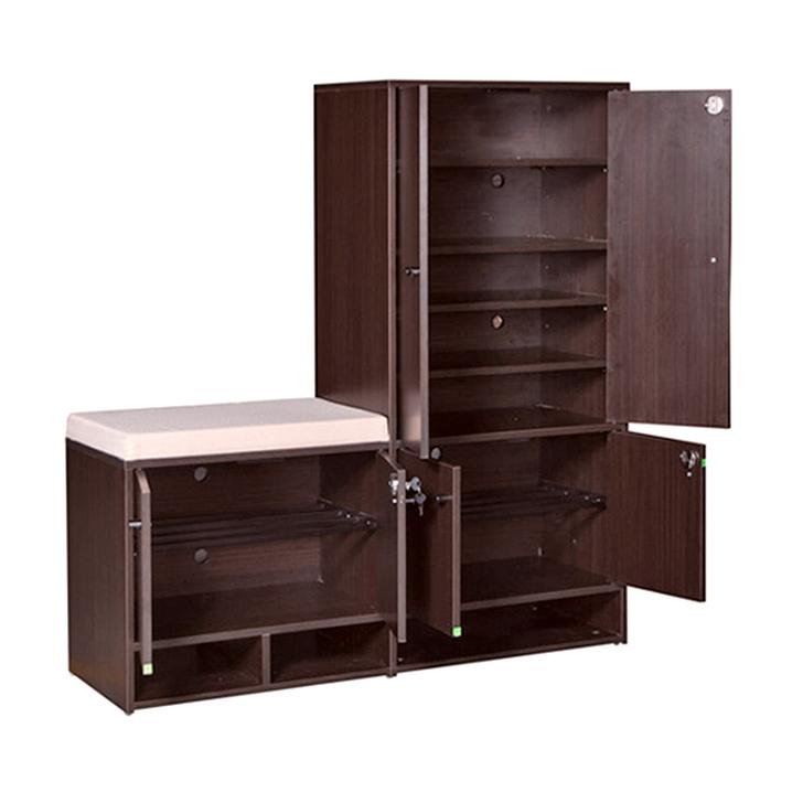 Brawny Shoe Rack Wenge,Furniture