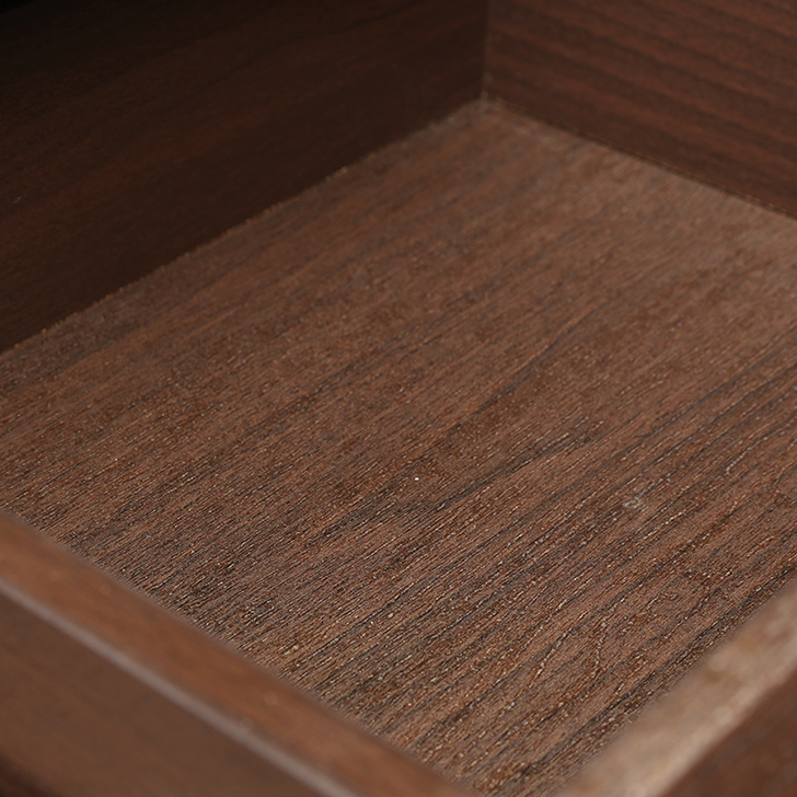 Cambry Bedside Table in Walnut Finish,Bedside Tables