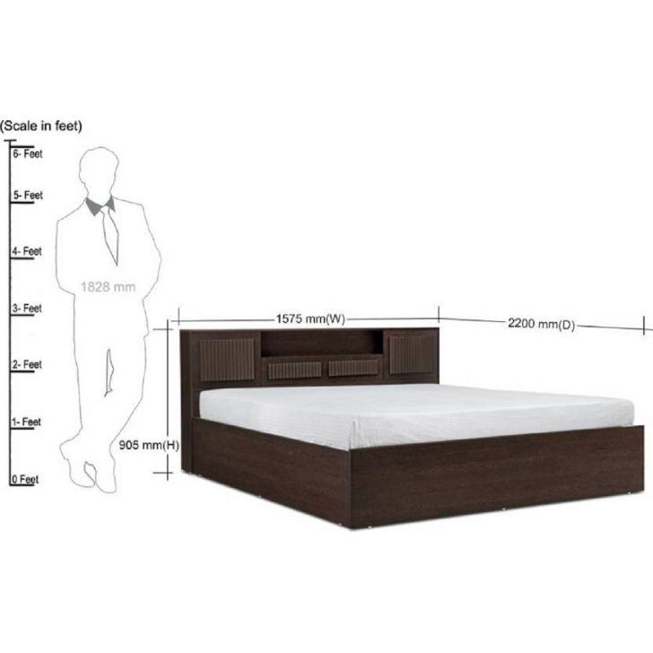 Product. Buy Tiago Queen Bed in Engineered Wood with Box Storage Online in