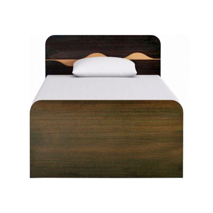 Swirl Single Bed with Box Storage in Denver Oak Finish,HomeTown Best Sellers