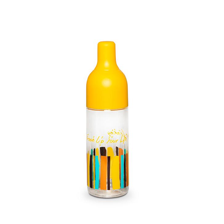 Living Essence Drinking Bottle 450 ml Mustard,Bottles