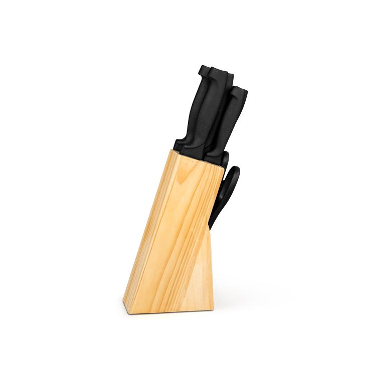 Living Essence Seven Seas Knife Block Set 7 Pcs,Table Knives