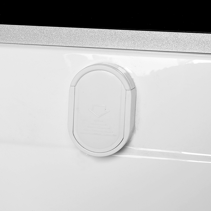 Evian Acrylic And Glass Multifunction Shower Room Apollo White,With Steam