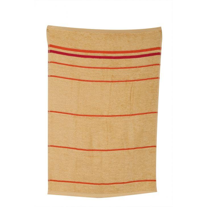 Emilia Hand Towel Butterscotch & Orange,Hand Towels