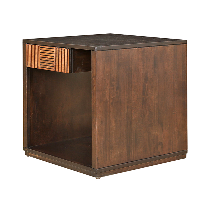 Sienna Side Table Wenge And Oak,Side Tables