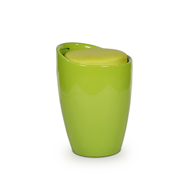 Luna Stool in Green Colour,Stools