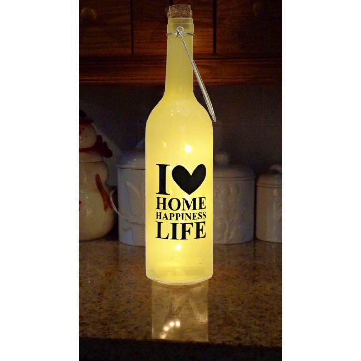 Venus Lettering Decal Bottle Lime,Lamps & Lighting
