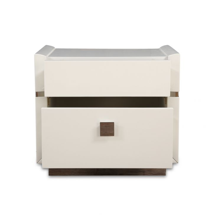 Diana High Gloss Night Stand,Bedside Tables