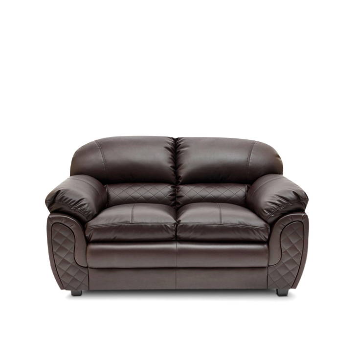 Mirage Two Seater Sofa in Brown Colour,All Sofas