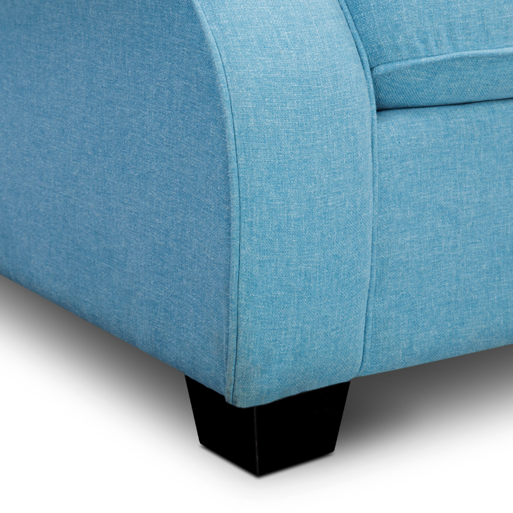 Opulence Two Seater Sofa Blue,Clearance Sale