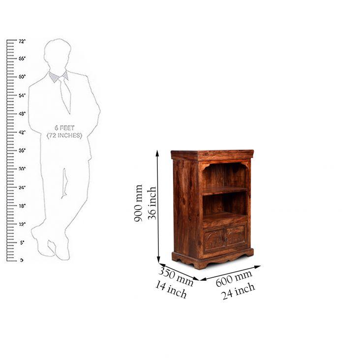 Tuskar Storage Cabinet in Walnut Finish,Kitchen Cabinets