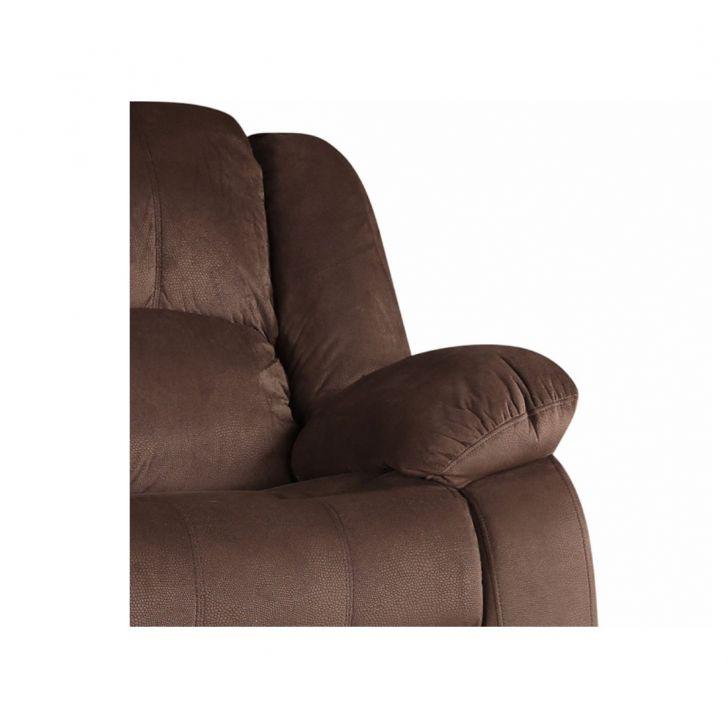 Rhea Three Seater Fabric Sofa Brown,Three Seater Sofas
