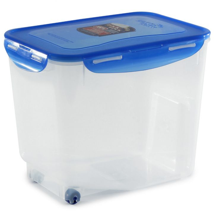 Lock & Lock Blue Rice Case,Containers