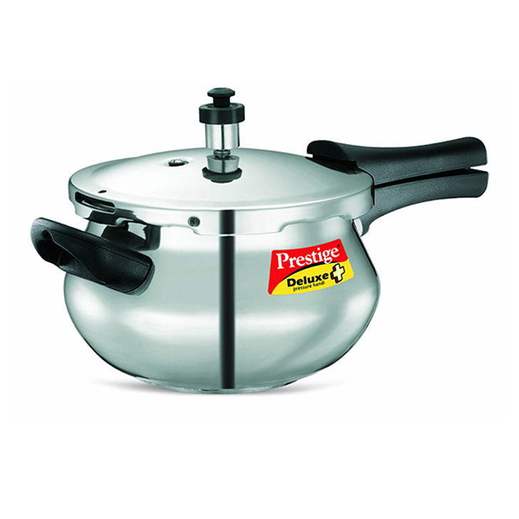Prestige Deluxe Plus Hard Anodized Mini Handi 3300 ml,Pressure Cookers