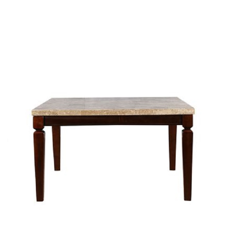 BLISS 6-SEATER MARBLE TOP DINING TABLE,6 Seater Dining Table