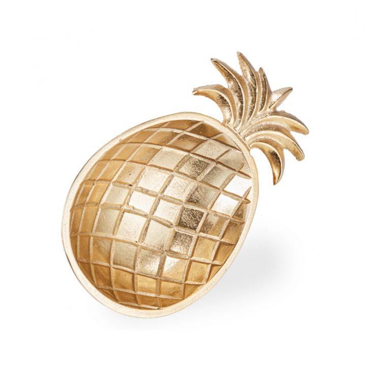 Aspen Pineapple Plater Small Gold,Handicrafts