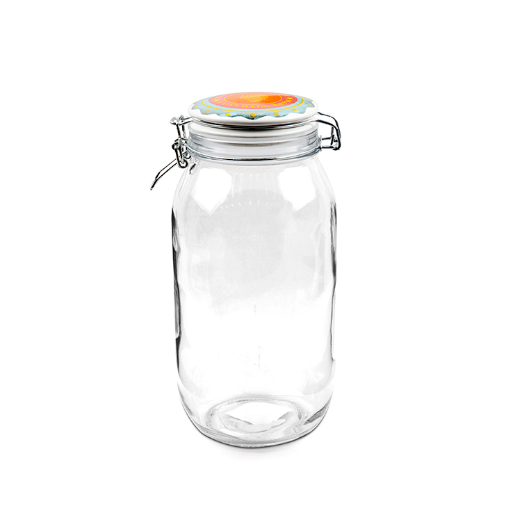 Living Essence ZES Home Made Storage Canister 2 Ltr,Containers