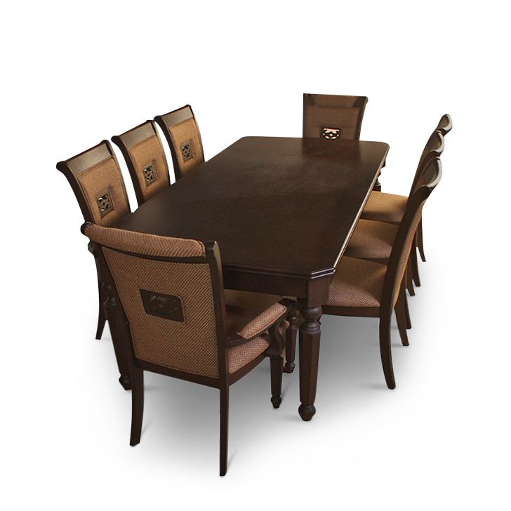 Calisto Solidwood 8 Seater Dining Set,All Dining Sets