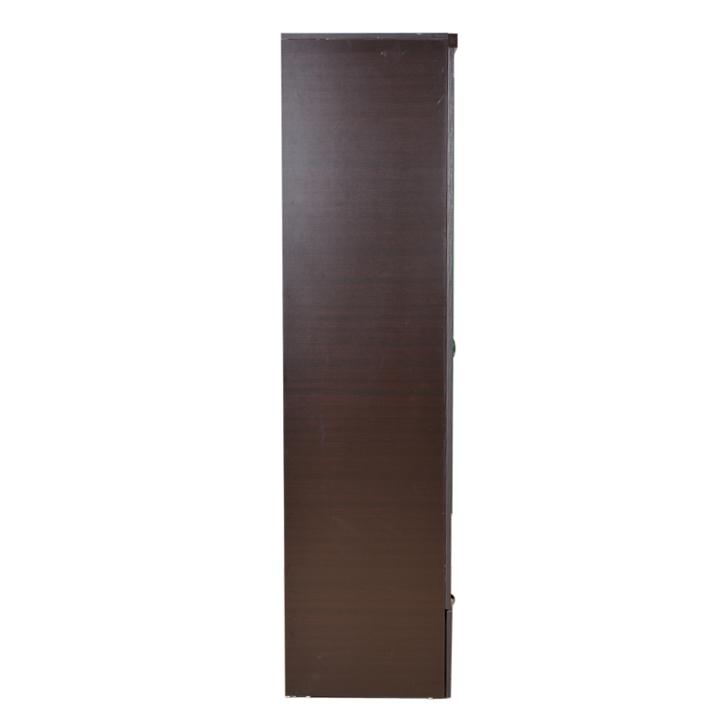 Utsav Two Door Wardrobe With Mirror in Wenge Finish,All Wardrobes