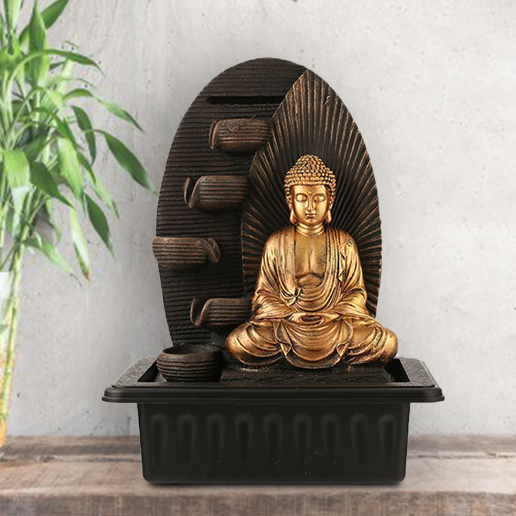 Impression Buddha Ray Pot Fountain,Indoor Fountains