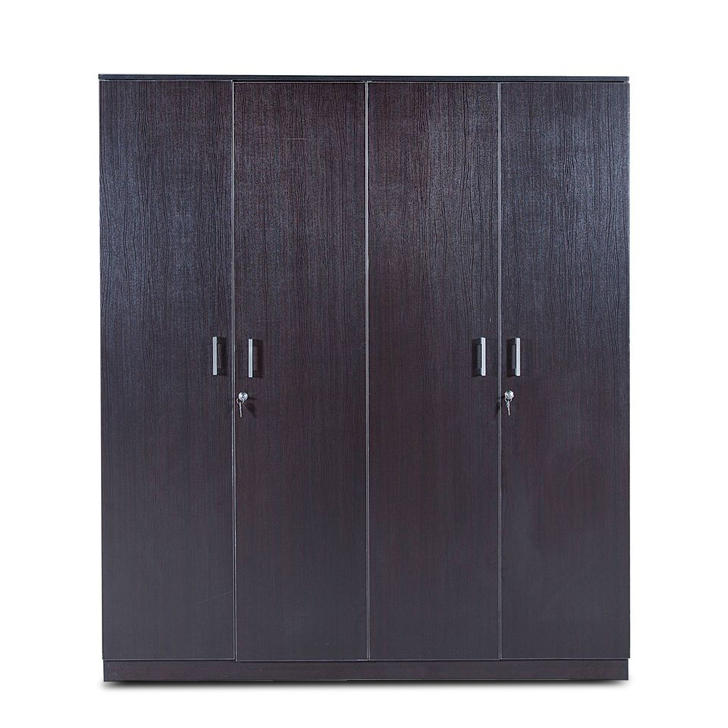 Prime Four Door Wardrobe in Wenge Colour,Furniture