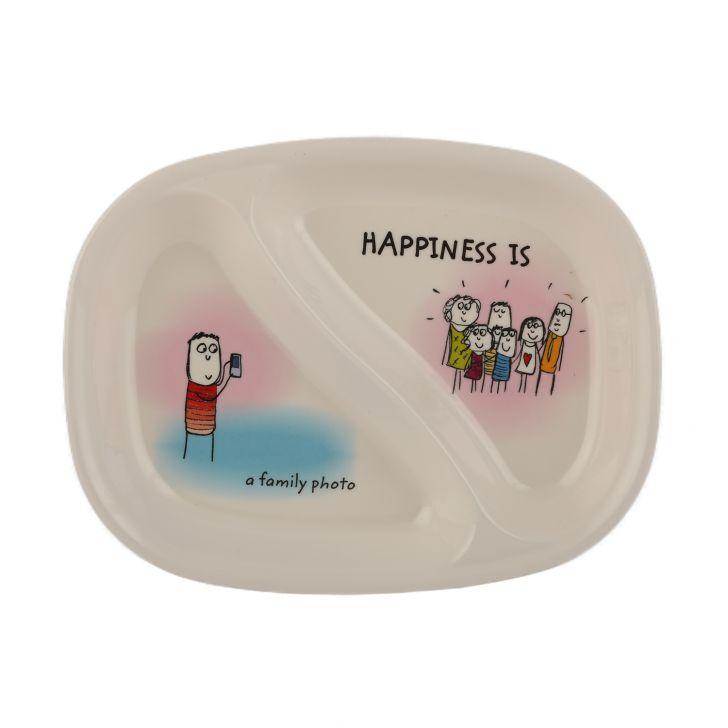 HAPPINESS KI & KA PLATE - Rad,Tableware