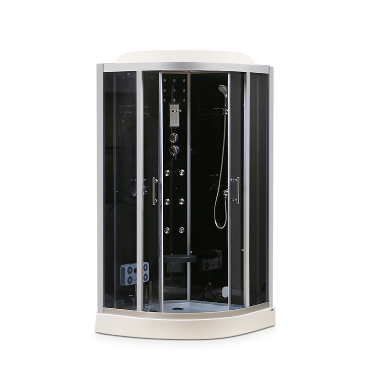 Lexus Acrylic And Glass Multifunction Shower Room Apollo White,With Steam