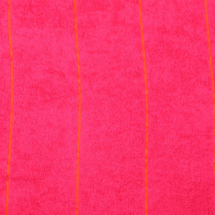 Emilia Bath Towel Butterscotch & Fuchsia,Bath Towels