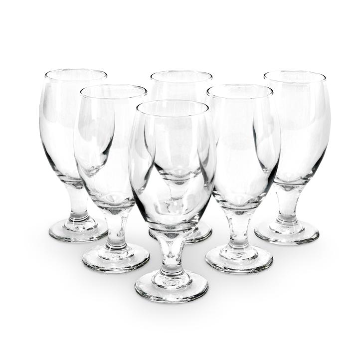 Libbey Belgian Beer Glass 6 Pcs,Glasses & Tumblers