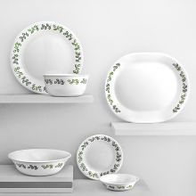 Corelle Neo Leaf Dinner Set 21 Pcs