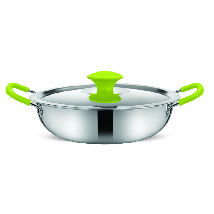 Kadai with lid,Cooking Essentials