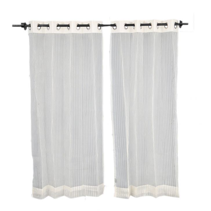 Sheer Extra Large Curtain SIA Off white,Curtains