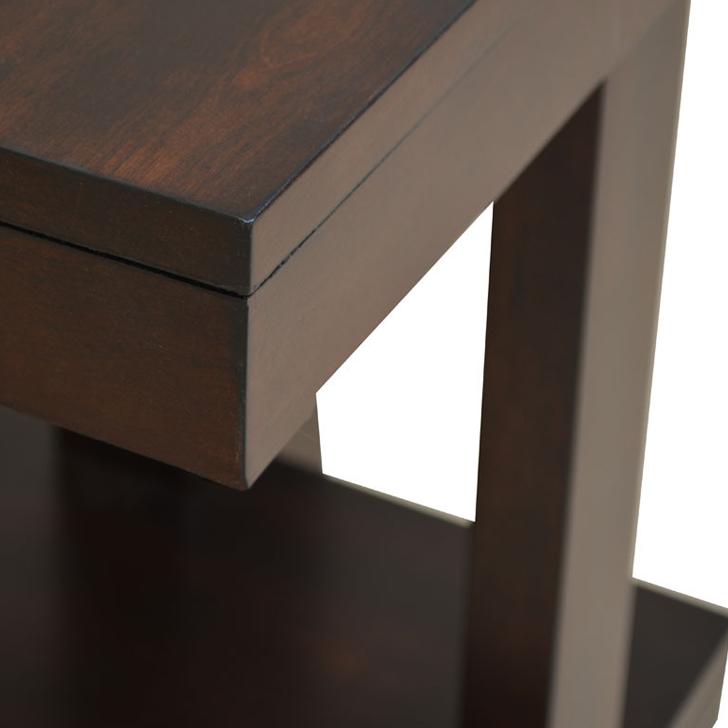 Joss Side Table Dark Walnut,Side Tables