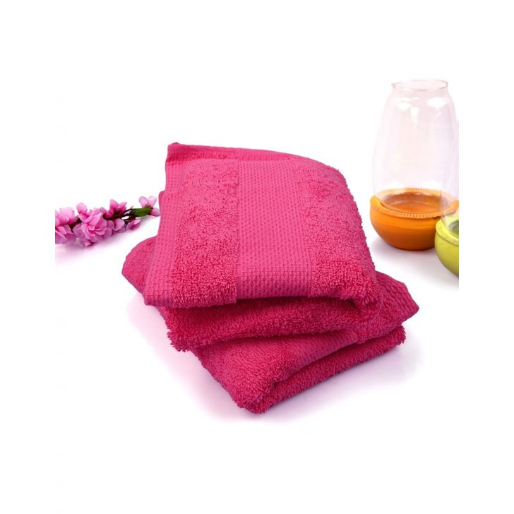 Terry Hand Towel 2 Piece Pink,Hand Towels