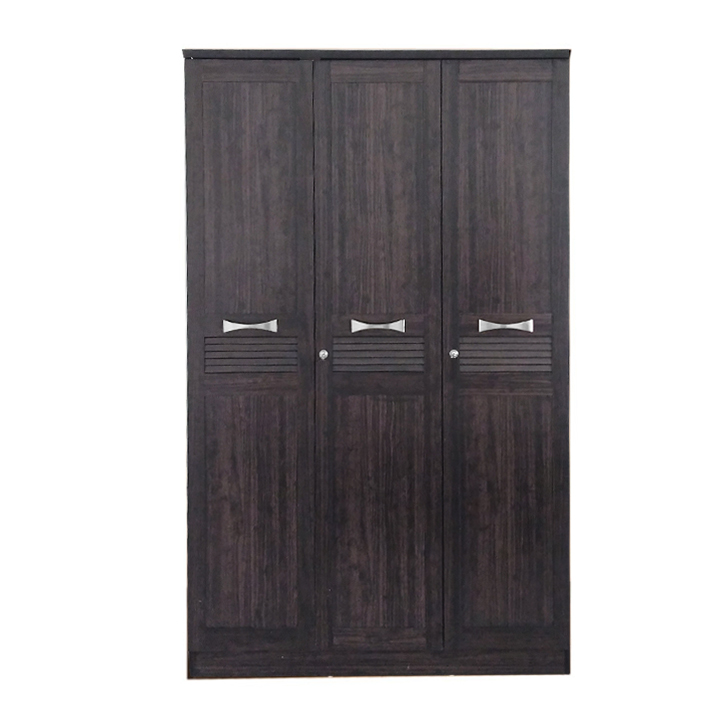 Bolton Super Storage Three Door Wardrobe in Wenge Finish,Furniture