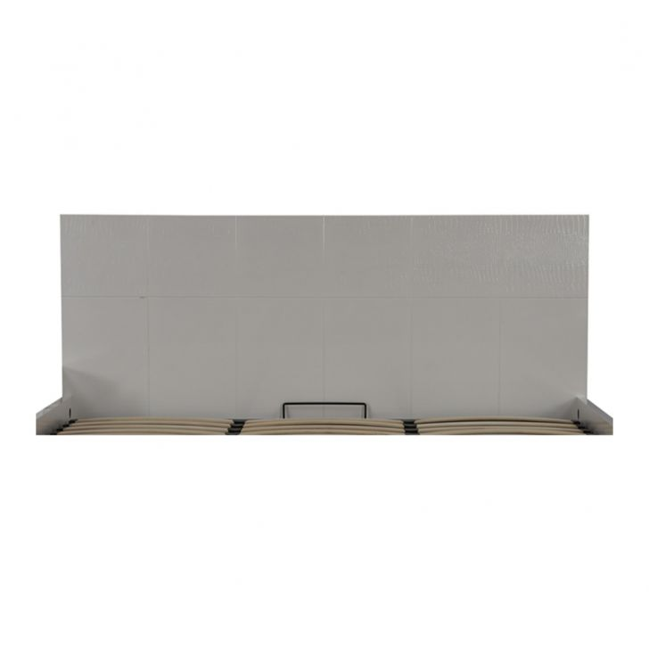 Fidora Highgloss Queen Bed With Hydraulic Storage,Hydraulic Beds