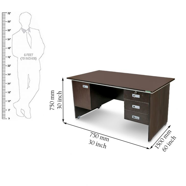 Integra Study Table Vermont,Office Tables
