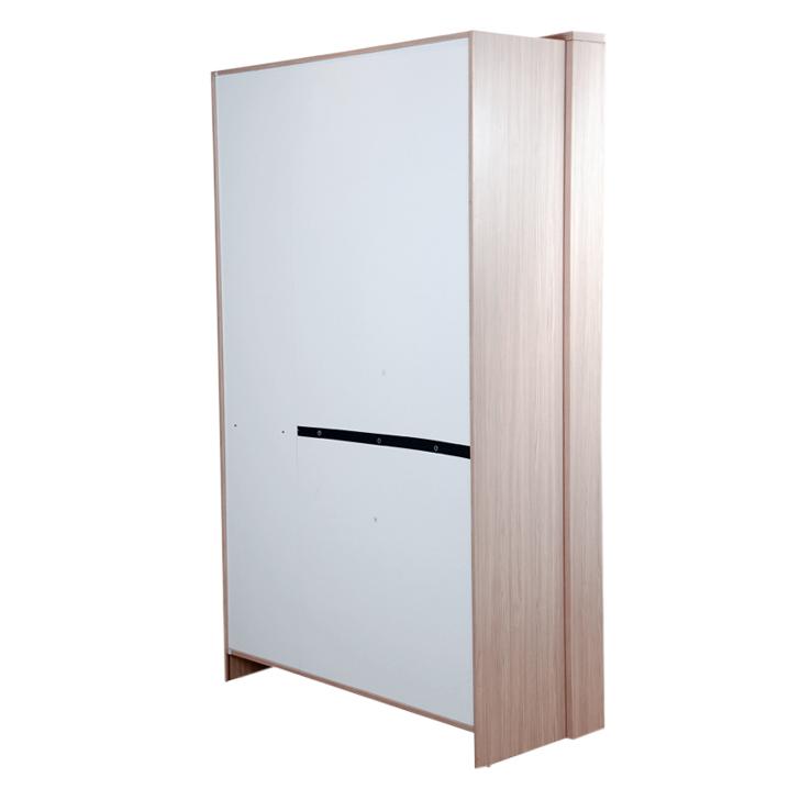 Ambra Three Door Wardrobe with Mirror in White Finish,All Wardrobes