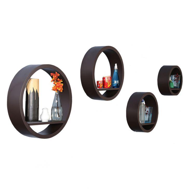 Hoop Wall Shelve Expresso,Bookshelves & Display Units