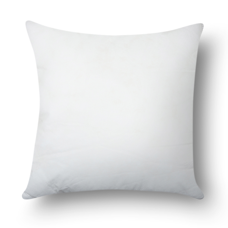 Living Essence Stylo Solid Non Woven Cushion Filler White,Bed Pillows