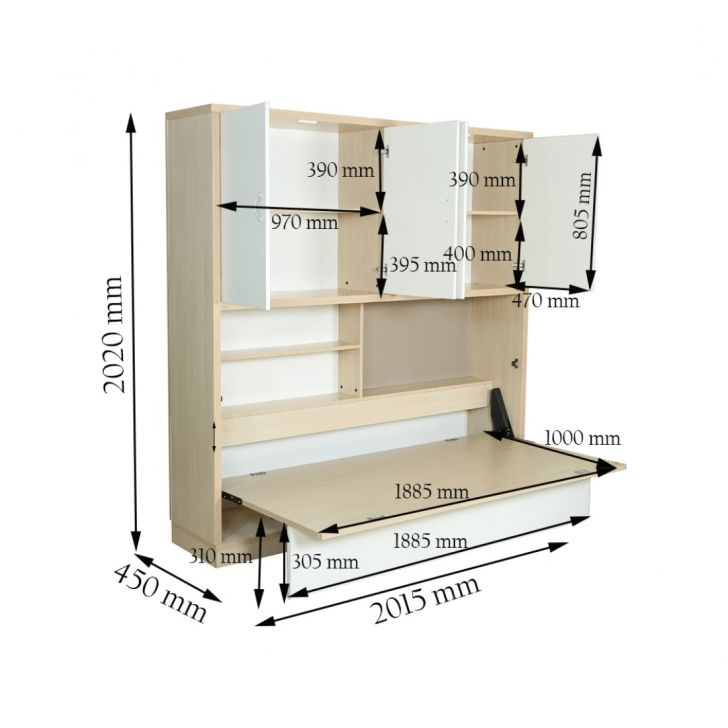 Rhodes Space Saver Bed,All Beds