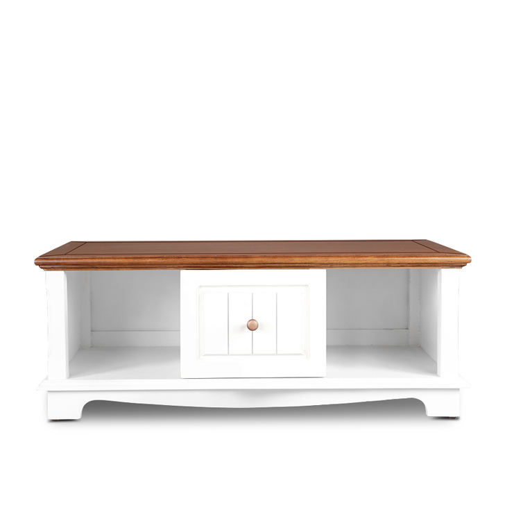Richmond Center Table in Brown & White Colour,Console Tables