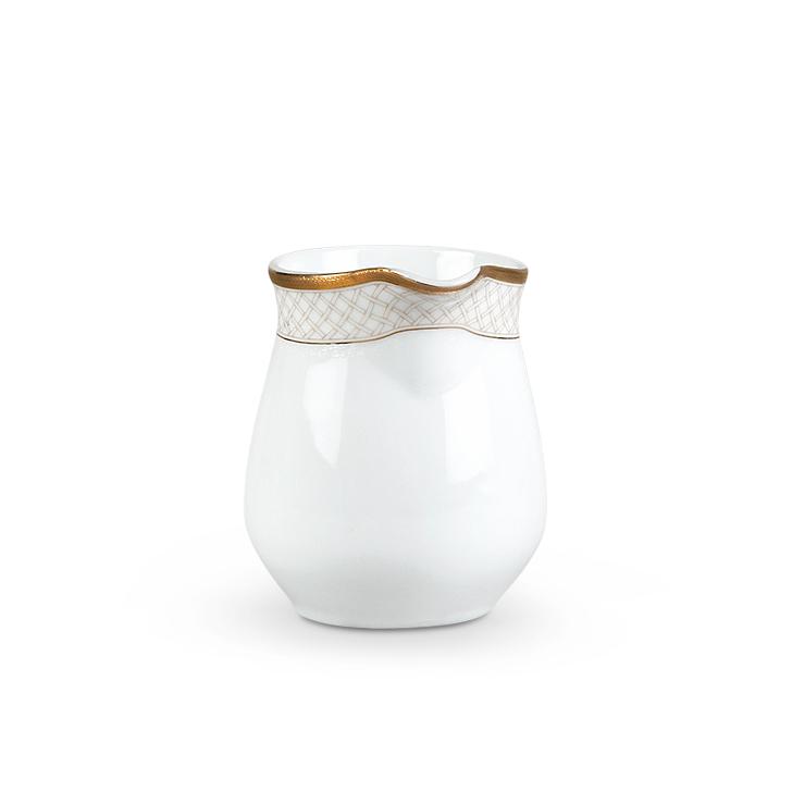 Living Essence Milk Pot Renaissance White And Gold,Dinner Sets
