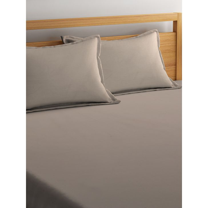 Portico Supercale Bedsheet Latte,Double Bed Sheets