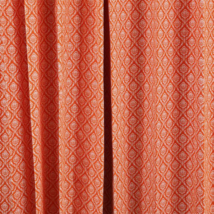 Living Essence Window Curtain Rio Orange Cordinate,Curtains