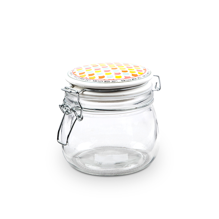 Living Essence ZES Home Made Storage Canister 400 ml,Containers