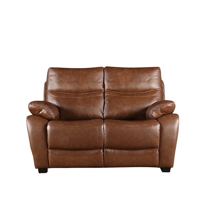 Lopez Half Leather Two Seater Sofa,All Sofas